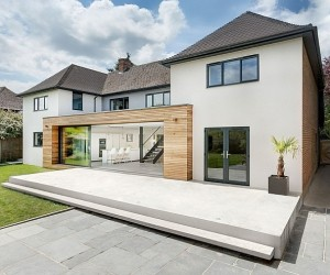 Classic English Home Gets A Grand Contemporary Update