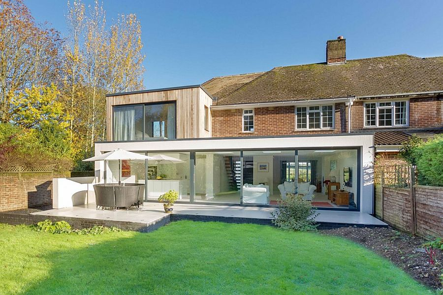 Classic English Home With Brick Faade Acquires A Nifty