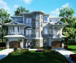 Classic Exterior Residential House Design