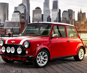 Classic MINI Electric Debuts In New York