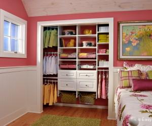 Closet organization by easy closet