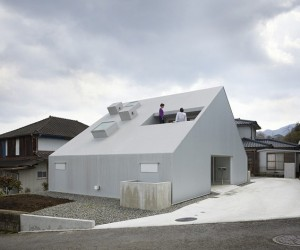 Cloudy House by Takao Shiotsuka Atelier