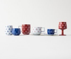 Clover Ceramics Collection by Nendo