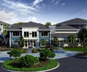 Club House Exterior Design