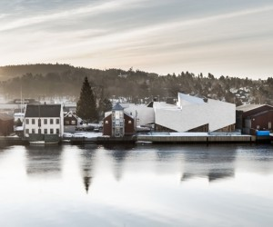 COBE Transform completed the Porsgrunn Maritime Museum