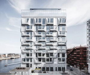 Cobe Completes The Silo Residential Building in Copenhagen