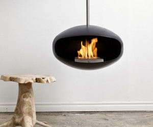 Cocoon Fireplaces by Federico Otero