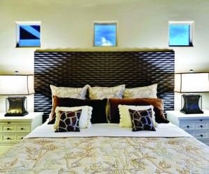 Colare texture panel headboards by Soelberg Industries