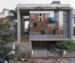 Collage House by SPS Architects, Mumbai