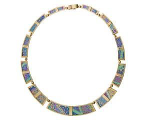 Collier Danza Alba: Necklace showcases Italian artisanship