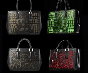 Color-Changing and Device-Charging Handbags