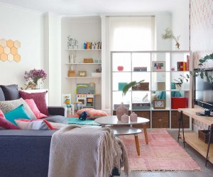 Colorful and charming Madrid apartment