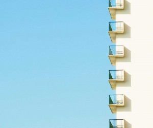 Colorful and Minimalist Architecture Photography by Matthieu Venot