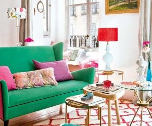 Colorful and youthful decor in Spain