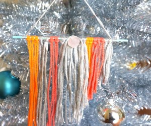 Colorful DIY Boho Chic Ornaments