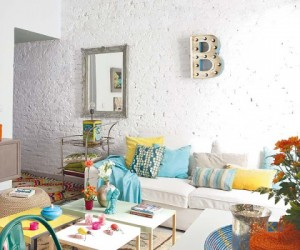 Colorful eclectic in Spain