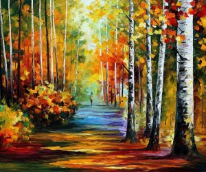 Colorful Oil-Painted Landscapes by Leonid Afremov