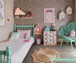 Colorful rooms for kids by Petite Vintage Interiors