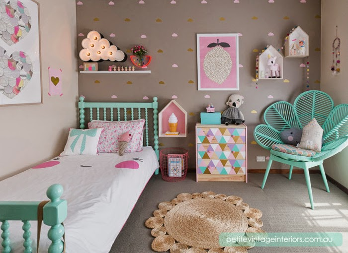 Colorful Rooms colorful rooms for kidspetite vintage interiors