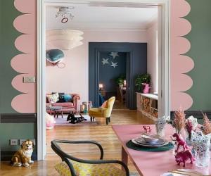 Colorful Scandinavian Apartment