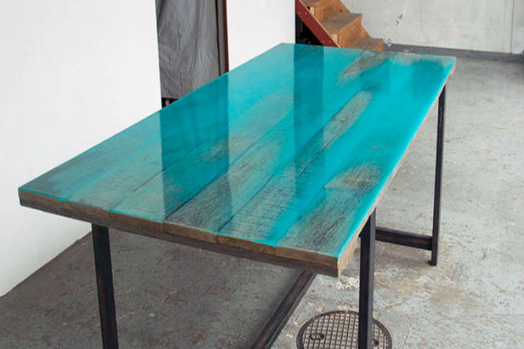 Coloured Resin Tables Vintage Furniture Collecting Living Modern