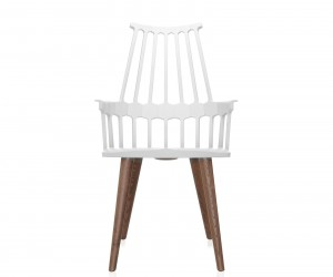 Comback Chair Four Wooden Legs by Patricia Urquiola for Kartell