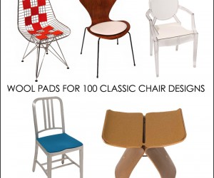 Comfy Pads For 100 Classic Modern Chairs