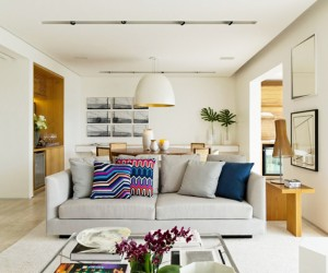 Compact and Stylish Apartment with Panoramic Views, So Paulo, Brazil