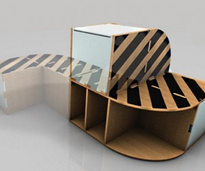 Compact Cardboard Furniture