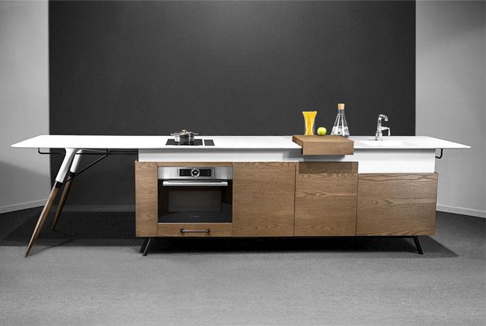 Compact Kitchen Design by Irena Kilibarda