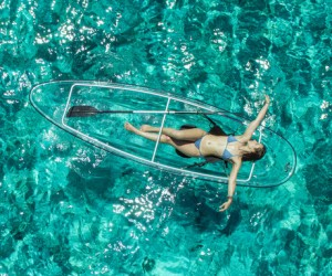 Comparing Totally Transparent Canoes and Kayaks