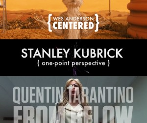 Compilations of Anderson, Kubrick & Tarantinos Directing Styles