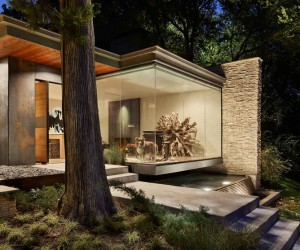 Complete Redesign of a Dilapidated 1950s Split-Level Home in Dallas