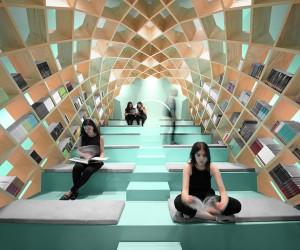 Conarte Bookstore by Anagrama, Monterrey