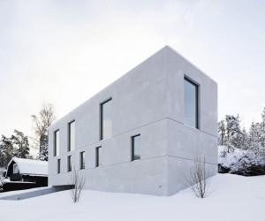 Concrete Cube Villa Mrtns by Fourfoursixsix