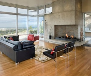 Concrete Fireplaces to Amaze