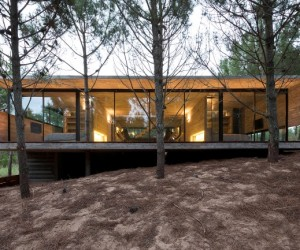 Concrete Holiday Retreat in Argentina by Luciano Kruk
