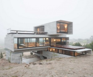 Concrete House  A Nest for Tough Guys Designed by Luciano Kruk