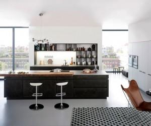 Concrete Kitchen by LEICHT