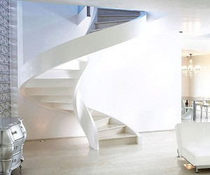 Concrete Spiral Staircases by Rizzi