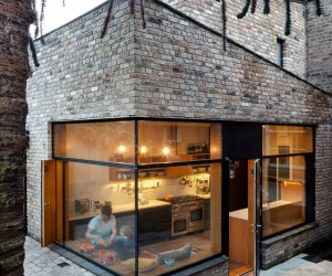 Conserved spaces, contemporary ideas: brick house addition in Dublin