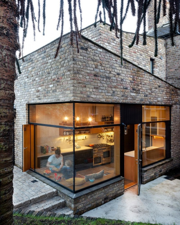 Brick House Addition In Dublin