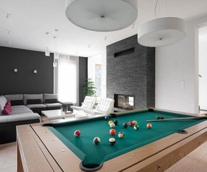 Contemporary bright home in Poland