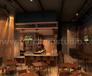 Contemporary Commercial Bar Design by Yantram architectural studio Melbourne, Australia
