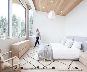Contemporary Family Ski Cabin with Scandinavian Influences