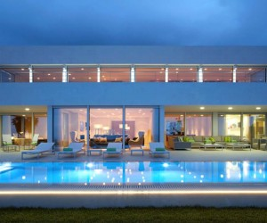 Contemporary Home has Mesmerizing Mediterranean Coastal Views