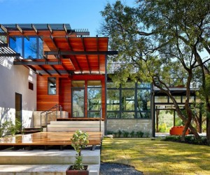 Contemporary house design in San Antonio