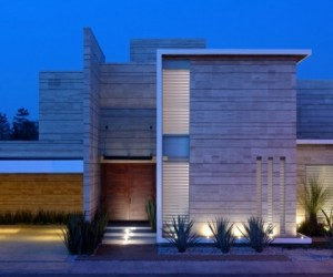 Contemporary house of JI STUDIO