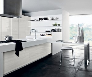 Contemporary Kitchen Compositions with Urbane Elegance