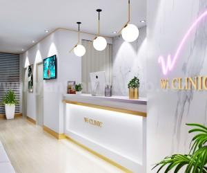 Contemporary, minimalist Office Reception Desk 3D Interior Designers by Architectural Visualisation Studio